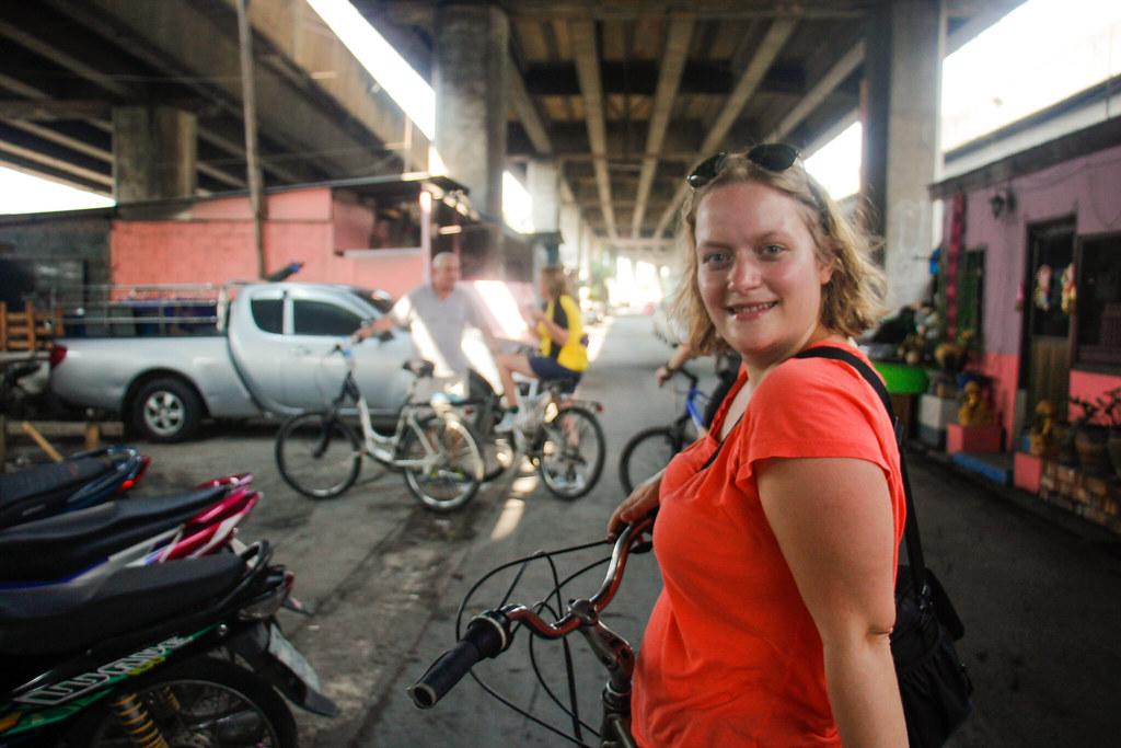 anmeldelse af en cykeltur i Bangkok