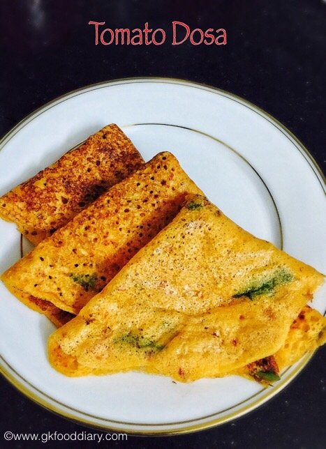 Tomato Dosa for Babies, Toddlers and Kids2