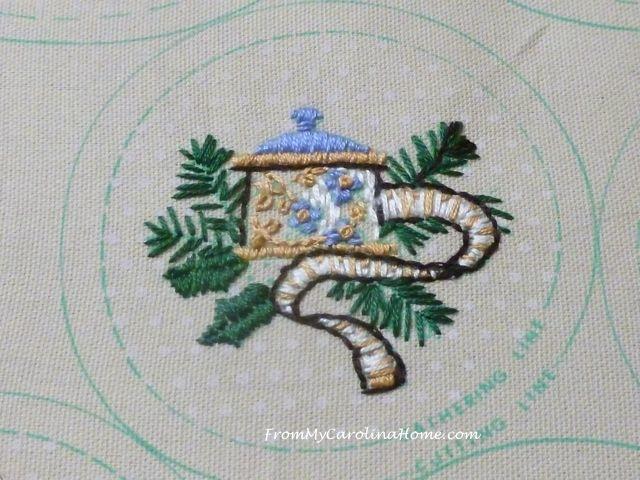 Slow Stitching week 7 tape