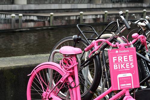 Free bikes in Amsterdam 3