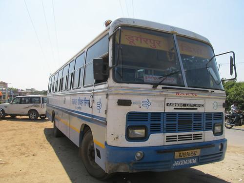 Bus pour Ranakpur