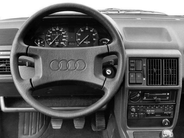 Салон Audi 100 C3. 1982 – 1987 годы