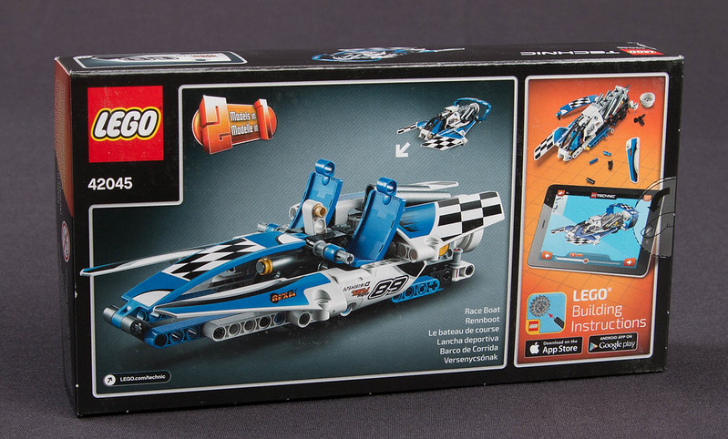 Review 42045 Hydroplane Racer Lego Technic And Model Team