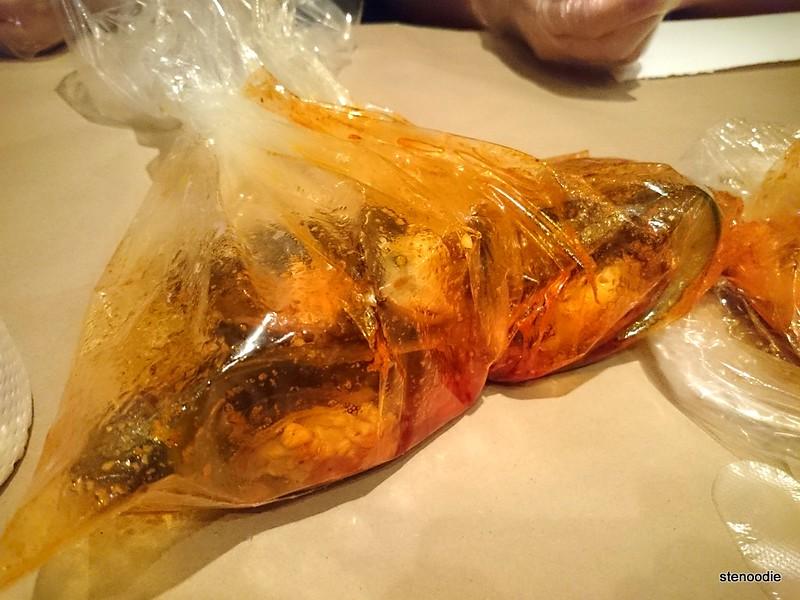 mussels in Cajun Cajun sauce