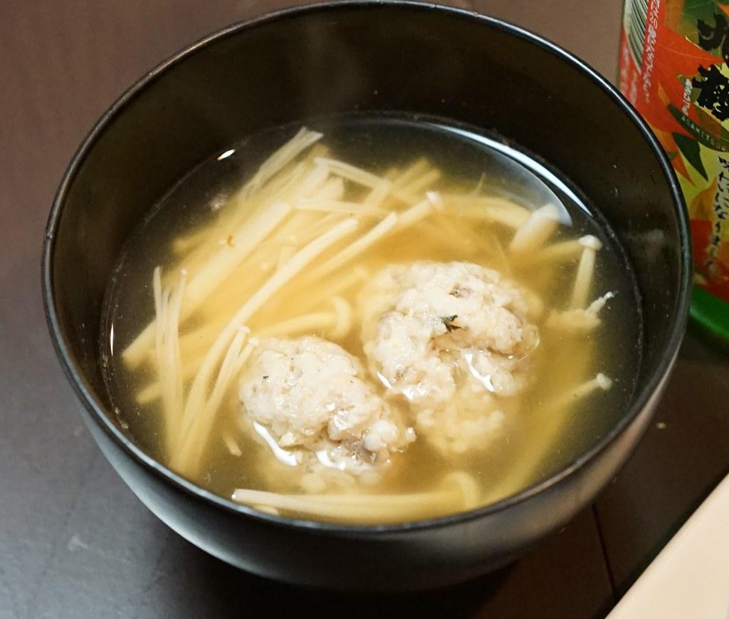 あじの団子スープ