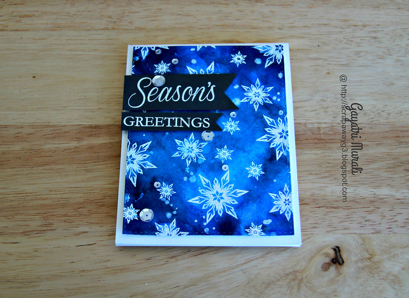 Season's Greetings flat