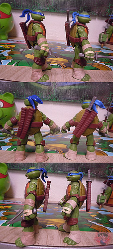 "Nickelodeon ""HISTORY OF TEENAGE MUTANT NINJA TURTLES"" FEATURING LEONARDO - Nick LEONARDO iv / ..with Nick Leo '12 (( 2015 ))"