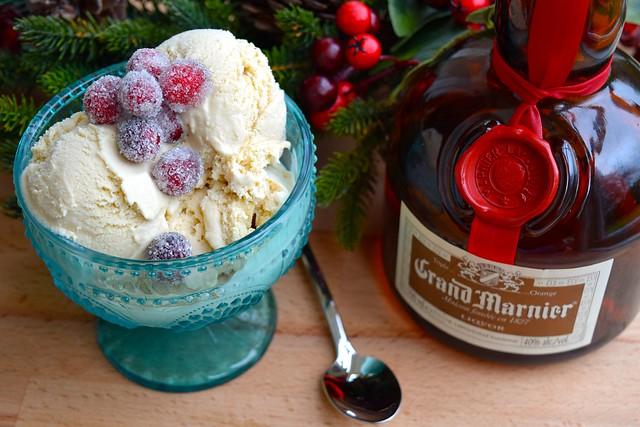 Brown Sugar & Grand Marnier Ice Cream | www.rachelphipps.com @rachelphipps