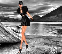[VM] VERO MODERO / Luna Skirt Set Black