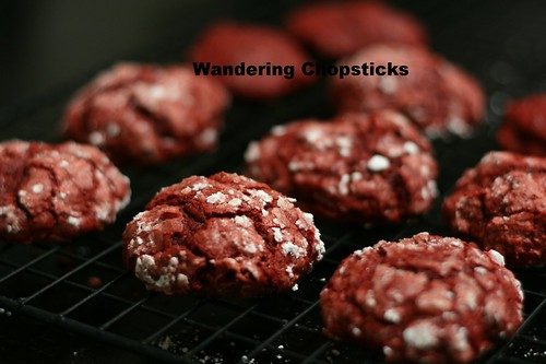 Red Velvet Crackle Cookies 10