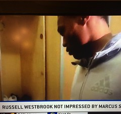 Isn't @russwest44 sponsored by @jumpman23 ??? So what's up with the @addidas52 top?? That's my guy but I just trying to figure out what's going on??? Lol. #NeverPanic #GoWizards #NBA #illest #sneakerhead #igdaily #instafresh #addidas #jordan #ithoughtanyw