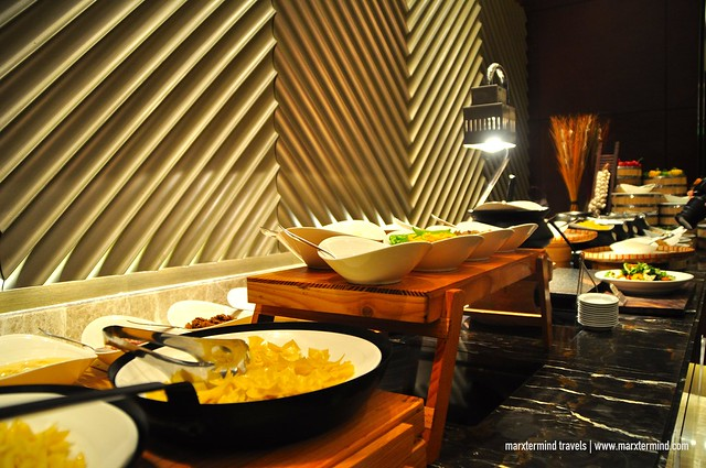 Buffet Table at Cafe Eight Crimson Hotel Manila