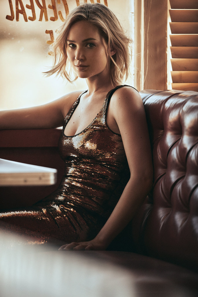Дженнифер Лоуренс — Фотосессия для «Vogue» 2015 – 5