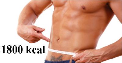 dieta 1800 kcal dla mężczyzn