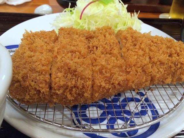 Tonkatsu (deep-fried pork) from Maisen @ Jingumae (near Harajuku)