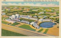 Federal Building and Surrounding Area - 1939 New York World's Fair