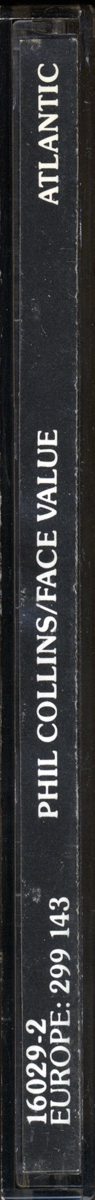 Face Value, 32XD-339, spine
