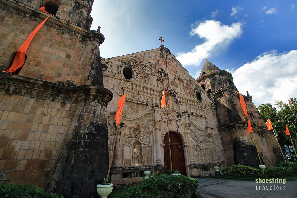 the Sto. Tomas de Villanueva Church in Miag-ao