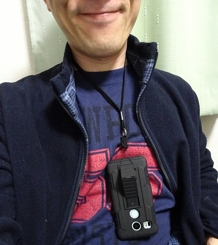 Nexus5xストラップ付きケースのレビュー