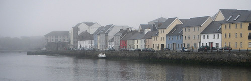 Foggy morning in Galway, Ireland