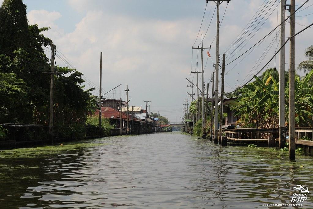 泰國曼谷-水上市場+美功鐵道市集+河濱夜市-45