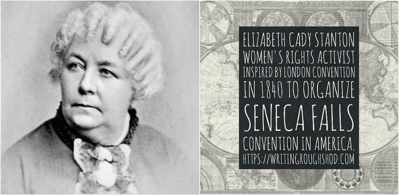 ELIZABETH CADY STANTON #100travelHERS