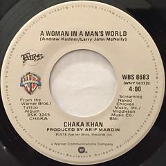 CHAKA KHAN:I'M EVERY WOMAN(LABEL SIDE-B)