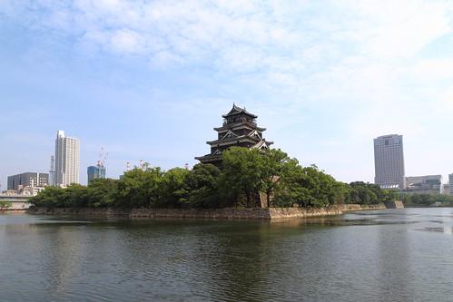 2015/08 広島城天守閣 眺望