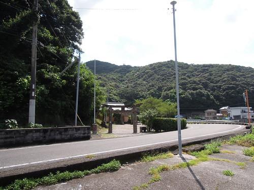 軍浦の神社(お大師様?)