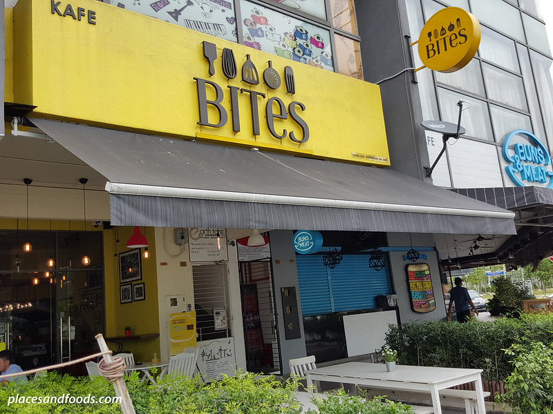 bites cafe lake fields sg besi