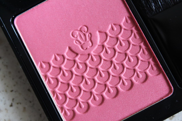 Guerlain Rose aux Joues blush Pink Me Up fall 2015 review and swatches