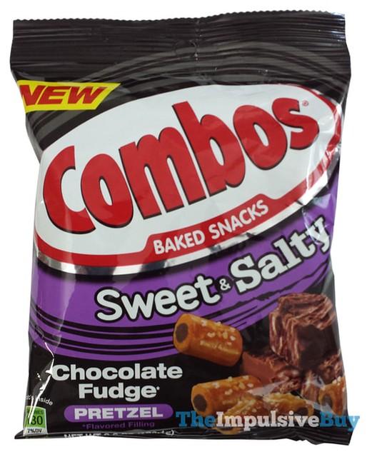 Combos Sweet & Salty Chocolate Fudge Pretzel