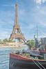 Tour Eiffel et Péniche by EC2015