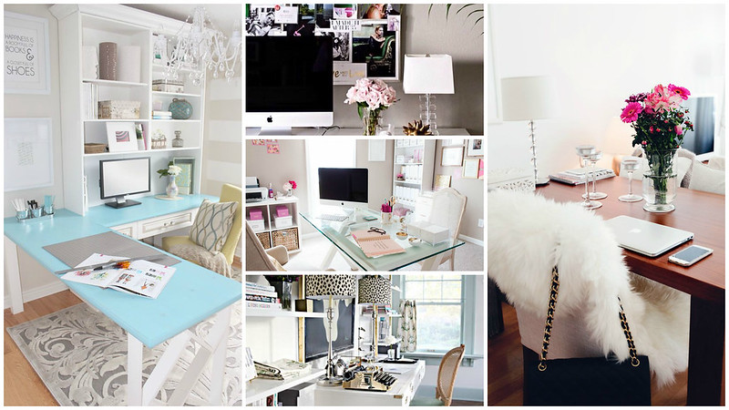 Desk Collage from Pinterest