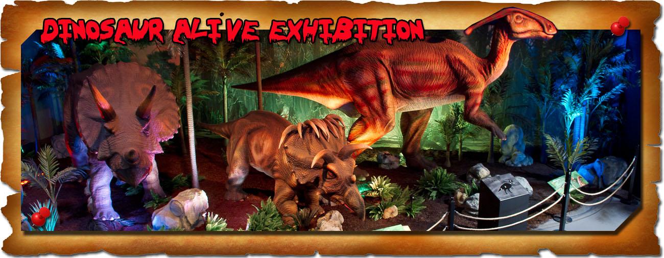Dinosaur Exhibition Banner