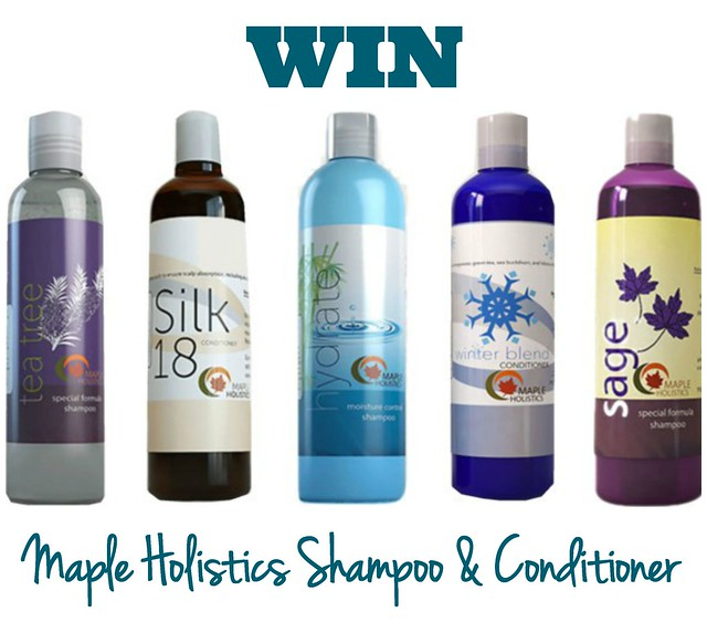 Win Maple Holistics Shampoo & Conditioner