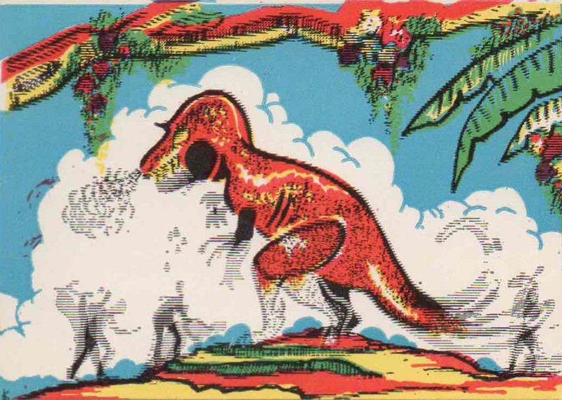 Monster Magic Action Trading Cards (1963) 20
