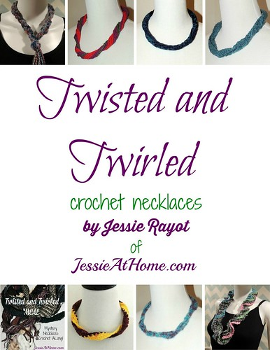 Twisted and Twirled Crochet Necklaces book cover