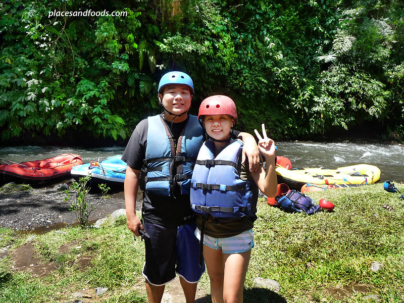 telaga raja river white river rafting placesandfoods