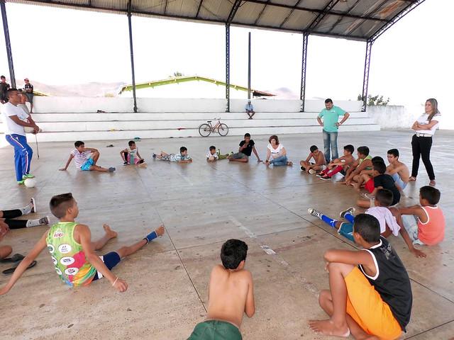 Projeto Cantos e Encantos da Cidadania do Centro de Apoio à Criança