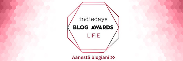 Ehdokasbanneri - Lifestyle -Indiedays Blog Awards