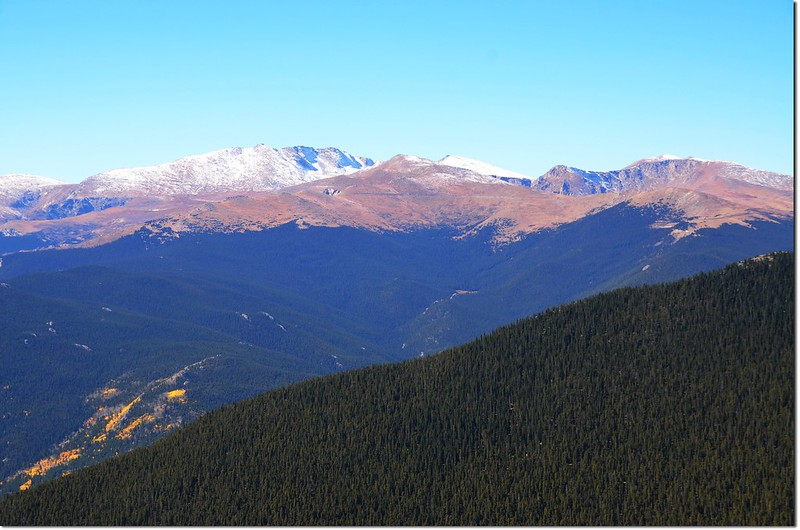Mount Evans Area from Squaw Mountain 3