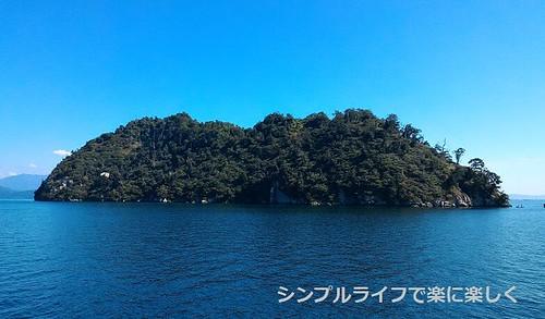 竹生島、全体