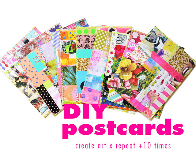 DIY Postcards - Creating in Series