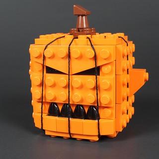 Jack O' Lantern Blockhead
