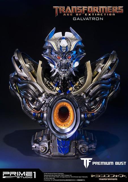 Prime 1 Studio 變形金剛4:絕跡重生【格威龍】GALVATRON 半身胸像