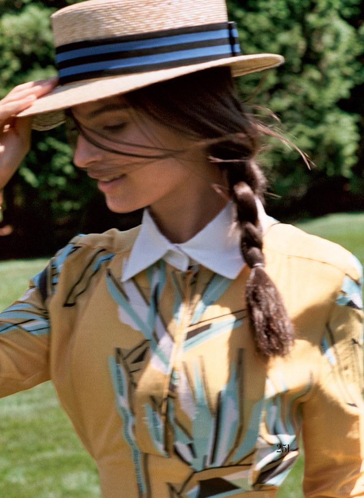 Эмили Ратайковски — Фотосессия для «Vogue» 2015 – 7