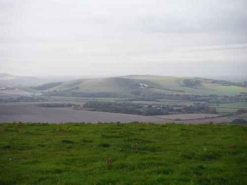 Mount Caburn, between Lewes and Glynde