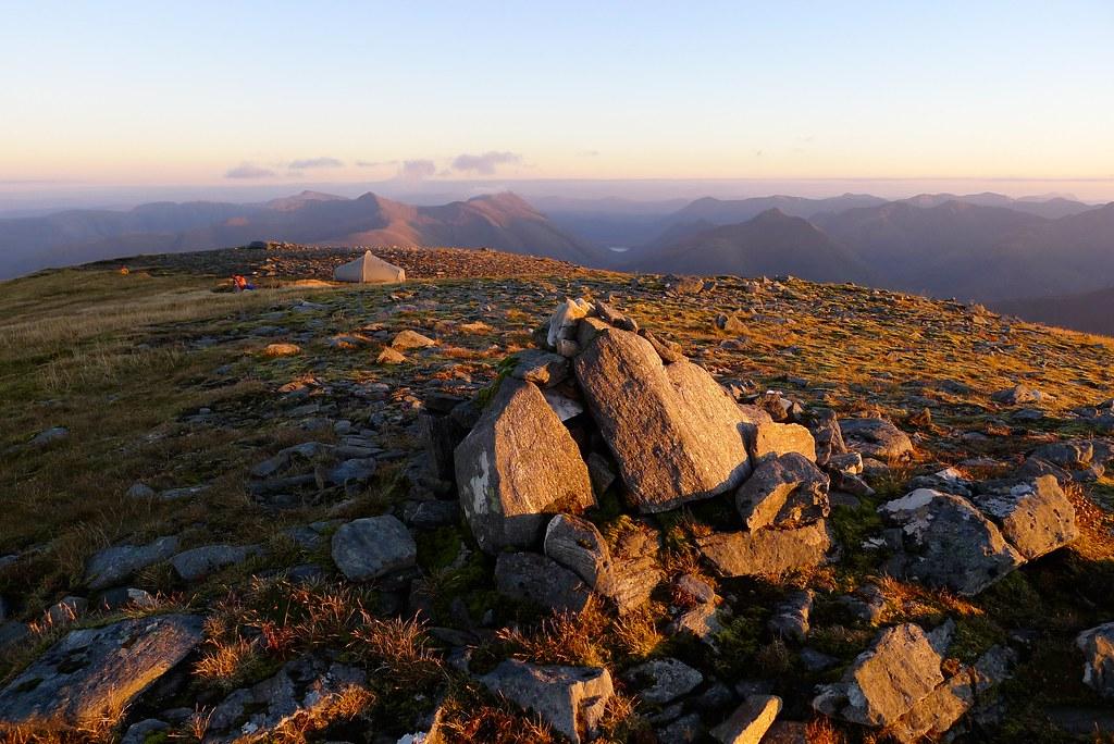 West Top of Sgùrr nan Ceathreamhnan