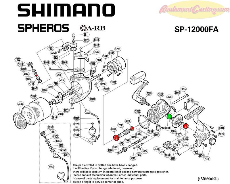 Schema-Shimano-Spheros-12000FA